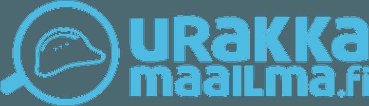 Urakkamaailma logo