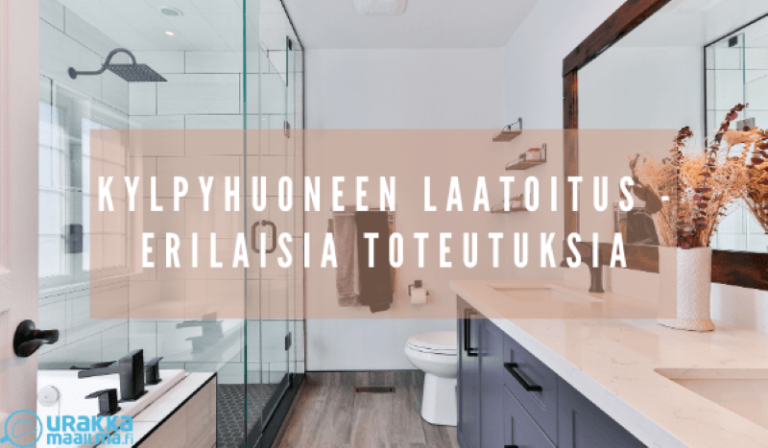 Kylpyhuoneen laatoitus – erilaisia toteutuksia